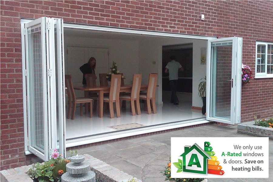 Upvc Patio Doors And Bi Fold Doors Supplied Fitted By Tudor Windows
